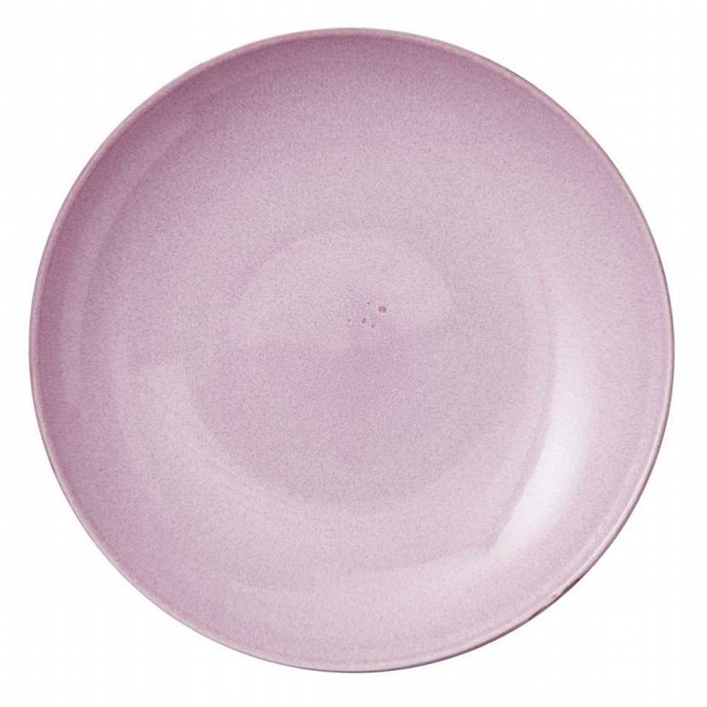 Stoneware - Giant Serving Dish 40cm - Pink / Grey